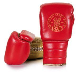 Boxhandske med mjuk latexstoppning och härlig komfort