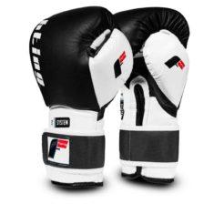 Boxningshandskar i läder med innovativt skydd