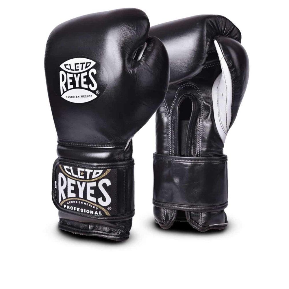 Boxningshandskar från Cleto Reyes med kardborrelåsning. En handske som är kvalitet rakt igenom