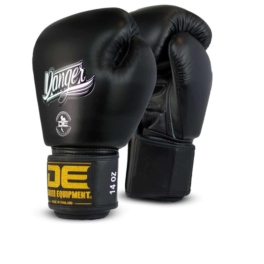 Boxningshandskar i läder