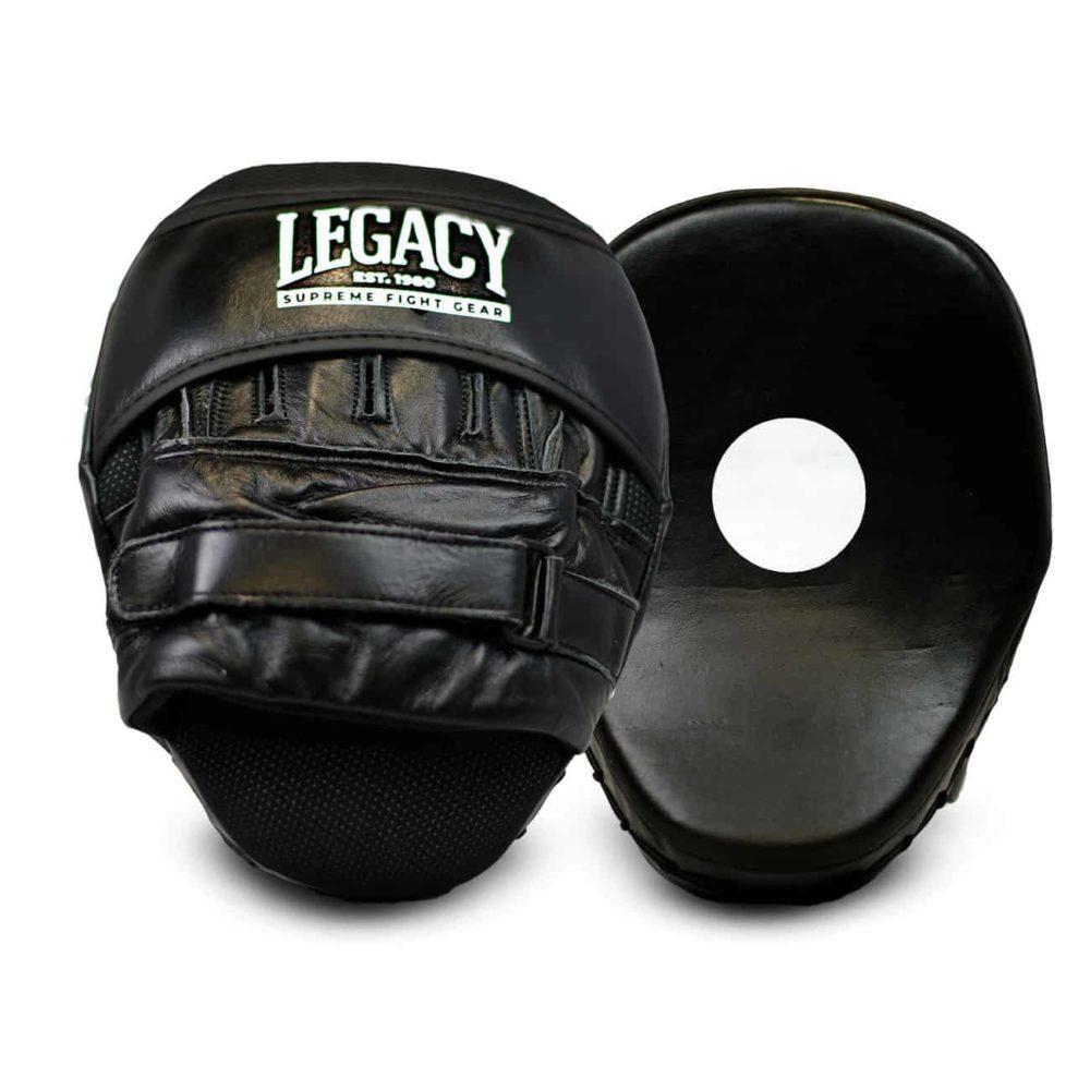 Fokusmitts för boxning i läder
