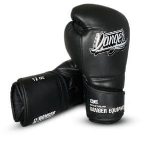 Boxningshandskar i läder med bästa skydd