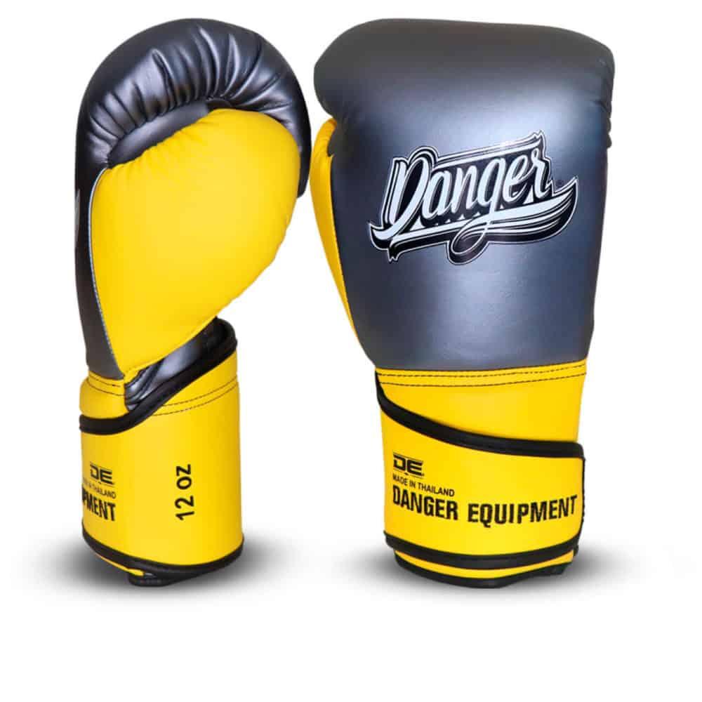 Boxningshandskar i konstläder med bästa skydd